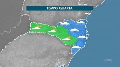 Confira a previsão do tempo para o Vale do Itajaí - undefined