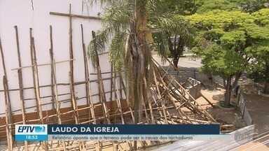 Laudo aponta condição do solo como causa de rachaduras em igreja de Bom Sucesso - undefined