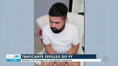Traficante expulso do Paraguai é entregue às autoridades brasileiras - Em Mato Grosso do Sul.