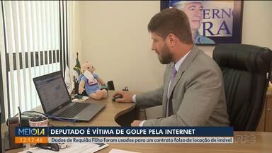 Deputado estadual é vítima de golpe pela internet - Dados de Requião Filho foram usados para um contrato falso de locação de imóvel.