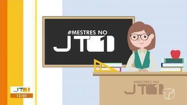 Confira a participação dos telespectadores no quadro 'Mestres no JT1' - Mande um vídeo homenageando o seu professor com a hashtag #mestresnojt1.