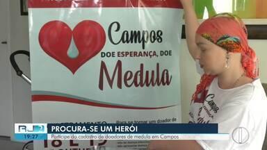 Saiba como participar do cadastro de doadores de medula em Campos - Voluntários podem se cadastrar nesta sexta (18) e sábado (19), no Ciep da Lapa.