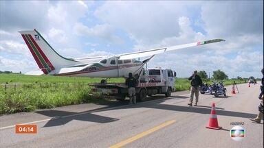 PF faz operação em sete estados contra tráfico de entorpecentes - O alvo era uma quadrilha que tinha cerca de 20 aviões para transportar a droga.