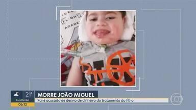 Corpo do garoto João Miguel vai ser enterrado nesta sexta em MG - Pai é acusado de desviar dinheiro do tratamento.