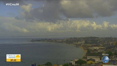 Veja a previsão do tempo para este fim de semana em Salvador e outras cidades da Bahia - Confira também as fotos do Amanhecer e a tábua de marés.