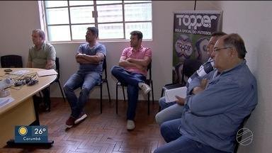 Em MS, é obrigatória a execução dos hinos brasileiro e sul-mato-grossense antes dos jogos - Times de futebol fazem reunião prévia.