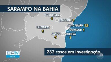 Salvador tem dia D de campanha contra sarampo e as crianças são os principais alvos - Até o momento 22 pessoas já tiveram a doença na Bahia.