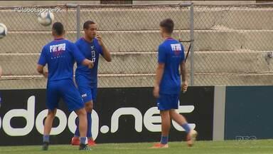 Paraná Clube tem o retorno de Jenison para enfrentar o Figueirense - Paraná Clube tem o retorno de Jenison para enfrentar o Figueirense