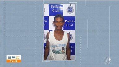Homem acusado de matar mulher na praia do Malhado é preso neste sábado - Ele já tem passagem na polícia por tentativa de estupro.