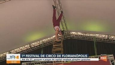 Festival de Circo de Florianópolis começa neste sábado - Festival de Circo de Florianópolis começa neste sábado