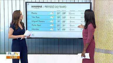 Sábado tem possibilidade de chuva isolada no Sul do Rio de Janeiro - Confira a previsão do tempo na região.
