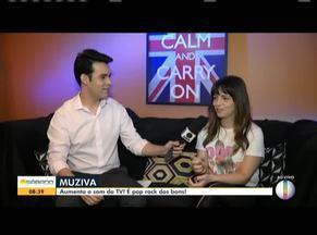 Banda Muziva participa do Bom Dia Sábado - Grupo levou muito pop rock para o Bom Dia Sábado.