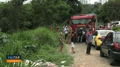 Criança de 7 anos é encontrada morta em Ponta Grossa - Vizinhos encontraram corpo em um arroio na Vila Nova.