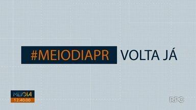 Telespectadores chamam o intervalo do Meio Dia Paraná - Participe também pelo 9 99725178.