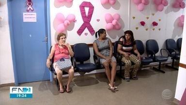 Mutirão realiza exames preventivos a mulheres, em Adamantina - Mês de outubro é dedicado à conscientização da saúde feminina.