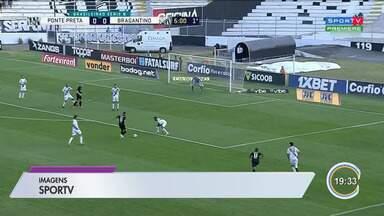 Bragantino tem empate contra a Ponte Preta - Veja a reportagem.