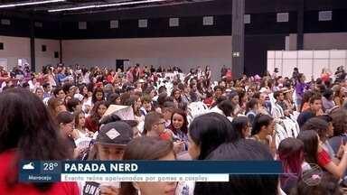 Parada Nerd mobiliza fãs de cultura pop em MS - Em Campo Grande.