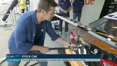 Conheça os bastidores de mais uma etapa da Stock Car em Cascavel - Nossas equipes acompanharam o trabalho de mecânicos especialistas em carros de corrida.