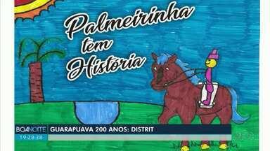 Guarapuava 200 anos: Distritos - E mais uma reportagem sobre os 200 anos de Guarapuava, você vai viajar pelos quatro distritos da cidade. Conheça as histórias, costumes, as riquezas que esses moradores preservam.
