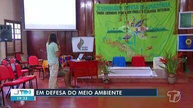 Seminário em defesa da Amazônia é realizado em Santarém - O evento foi promovido pela Diocese de Santarém .
