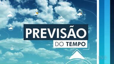 Veja como fica o tempo para este domingo (20) na região de Guarapuava - Até segunda-feira, a previsão é de chuva.
