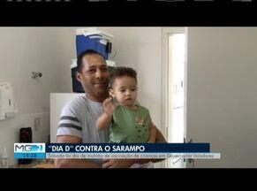 Dia 'D' de Vacinação é realizada em Governador Valadares - A campanha de vacinação contra o sarampo é realizada até a próxima sexta-feira (25). O número de imunizados foi abaixo do previsto, nos postos de saúde de Governador Valadares.