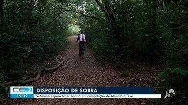 Homem de 59 anos espera fazer bonito em competição de mountain bike no Crato - Saiba mais no g1.com.br/ce