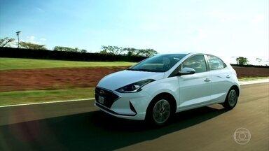 Hyundai HB20 ganha cara nova; veja como ficou - Confira o lançamento do novo hatch da Hyundai. A nova versão tem novo design e mais tecnologia.