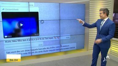 Veja a participação do telespectador nesta segunda-feira (21) - Saiba mais em g1.com.br/ce