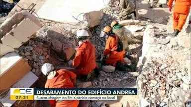 Sobrevivente: Veja o relato de Davi Sampaio sobre o desabamento do Edifício Andrea - Saiba mais em g1.com.br/ce
