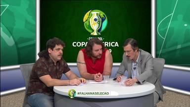 Falha de Cobertura comenta o duelo entre Brasil e Paraguai com brinde do Carrefour - Falha de Cobertura comenta o duelo entre Brasil e Paraguai com brinde do Carrefour
