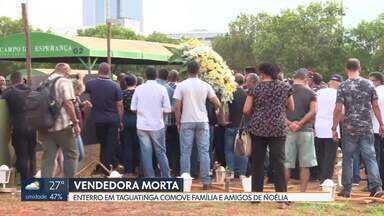Marido de vendedora encontrada morta deve prestar depoimento nesta segunda - Noélia foi encontrada morta no assentamento 26 de setembro na última sexta-feira (18).