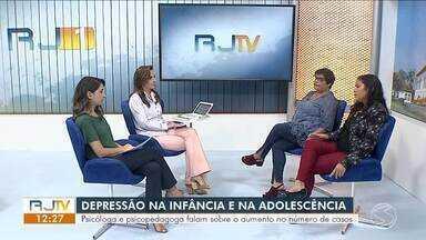Depressão infantil: especialistas falam sobre o aumento no número de casos - Segundo a Sociedade Brasileira de Pediatria, transtornos cresceram 400% entre jovens e crianças em 10 anos.