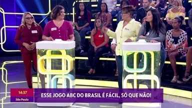Jogue com a plateia no 'ABC do Brasil' - Neste quiz, vence a dupla que responder certo ao maior número de perguntas