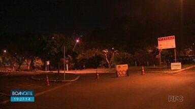 Aminthas de Barros ficará com bloqueio por mais de uma semana - Motoristas precisam ficar atentos pois há desvio para quem vai no sentido avenida Higienópolis