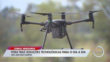 São José dos Campos recebe feira de tecnologia - Feira apresenta soluções tecnológicas para atividades do dia a dia.