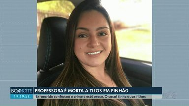Mulher é morta a tiros pelo ex-marido em Pinhão - Ex-marido confessou o crime e está preso. O casal tinha duas filhas