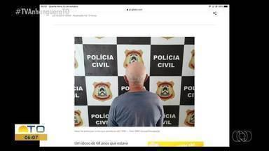 Mototaxista é preso em Gurupi suspeito de tentativa de homicídio que aconteceu há 23 anos - Mototaxista é preso em Gurupi suspeito de tentativa de homicídio que aconteceu há 23 anos