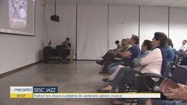 Sesc Jazz tem abertura com bate-papo sobre a história do gênero musical em Santos - Festival segue até este sábado (26) com shows de artistas brasileiros e estrangeiros.