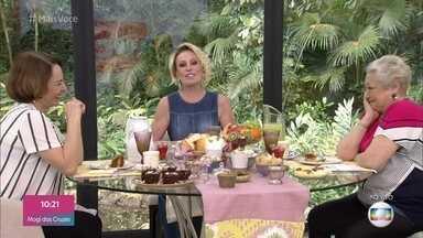 Programa de 23/10/2019 - Ana Maria Braga recebe as atrizes Suely Franco e Nívea Maria para o café da manhã na Casa de Cristal