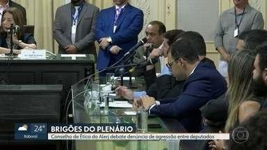 Conselho de Ética da Alerj faz primeira reunião do ano - Serão analisadas denúncias sobre brigas no plenário e a vistoria que o deputado Rodrigo Amorim fez no Colégio Pedro II.
