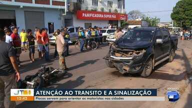 Imprudência de motoristas é uma das maiores causas de acidente no trânsito em Santarém - Atenção é essencial para evitar acidentes.