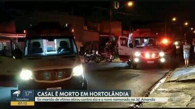 Ex-marido de vítima atirou contra ela e o novo namorado em Hortolândia - Fernanda Dias, de 26 anos, e Rafael Nobre, de 30 anos, foram assassinados dentro de imóvel no Jardim Amanda I na noite desta quarta (23).