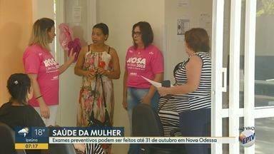 Exames preventivos podem ser feitos até 31 de outubro em Nova Odessa - Mês de outubro é marcado por diversas ações de prevenção ao câncer de mama.