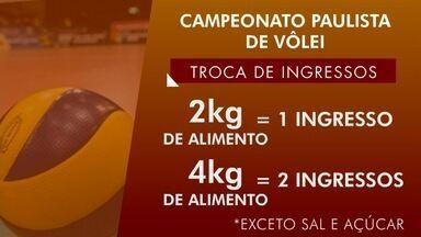 Taubaté inicia troca de ingressos para final do Paulista de Vôlei - Primeiro duelo contra Campinas será nesta sexta.