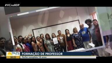 Programa de formação de docentes da UFPA completa 10 anos - Programa de formação de docentes da UFPA completa 10 anos