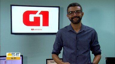 Confira os destaques do G1 Sergipe com Anderson Barbosa - Confira os destaques do G1 Sergipe com Anderson Barbosa.