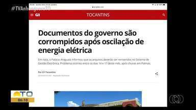 Documentos do Governo são corrompidos após oscilação de energia elétrica - Documentos do Governo são corrompidos após oscilação de energia elétrica