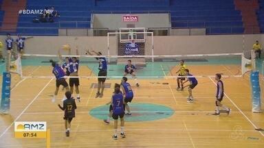 Campeonato Amapaense Juvenil de Vôlei: Placa e Ypiranga Golçalves Dias encaram disputa - Jogo ocorreu pela segunda rodada.
