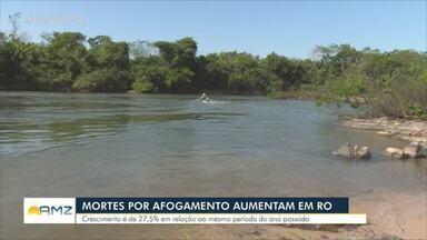 Rondônia registra aumento no número de mortes por afogamento - Crescimento é de quase 30%.